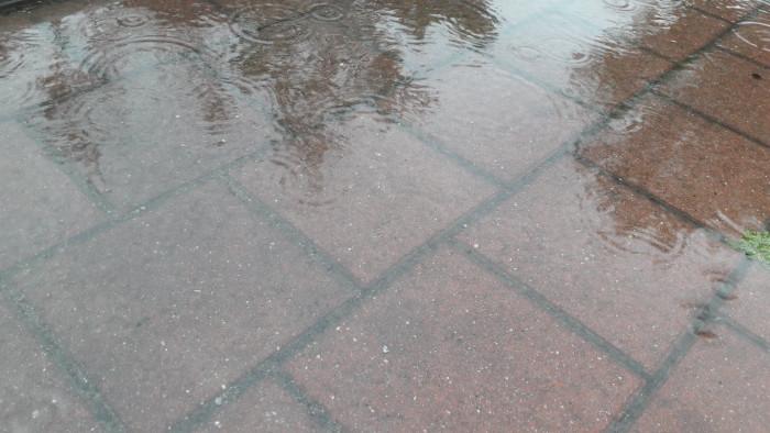 Regenzeit Oktober Berlin